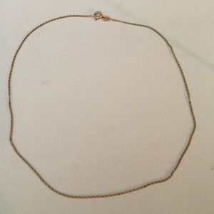 Jewelry - 15 inch 14 kt. Gold chain